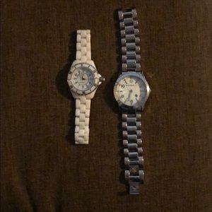2 Isaac Mizrahi Watches